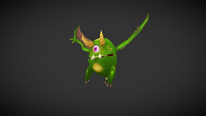 Tiny Pocket Creatures - Creature 05 3D Model