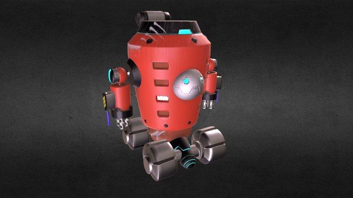 robot bibo (2.0v) 3D Model