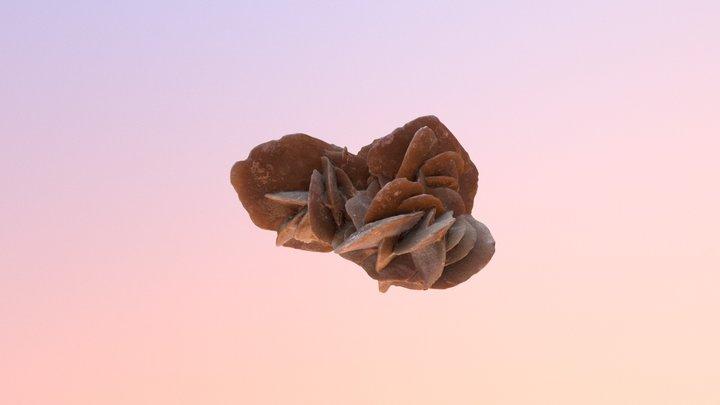 Rose Des Sables (Tunisie) 3D Model
