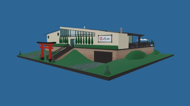 Manabu Studios 3D Model