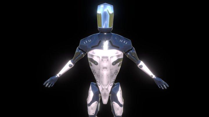 Sci-Fi Suit - Learning Substance Painter 3D Model