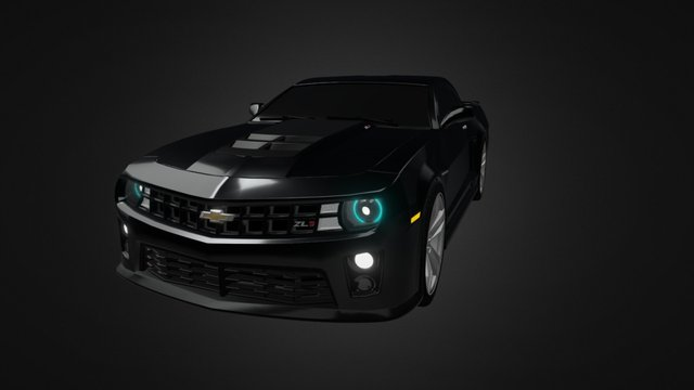 Chevrolet Camaro ZL1 3D Model