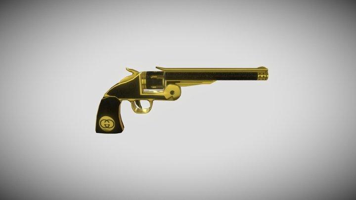 Revolver Gucci 3D Model