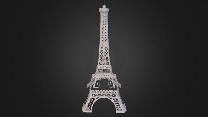 876254_эйфелевая башня 3D Model