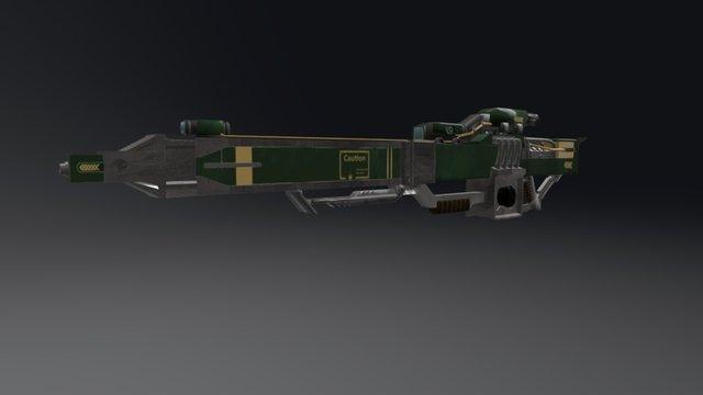 Fusion Sniper 3D Model