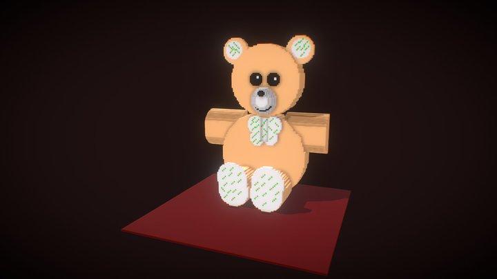 Teddy Bear Toy 3D Model