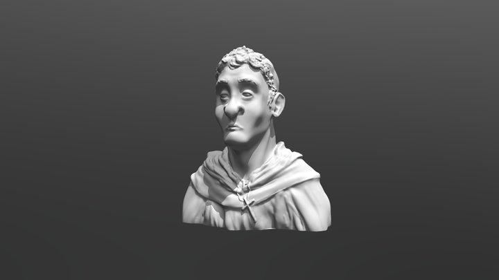ZBrush Monk Sculpt 3D Model