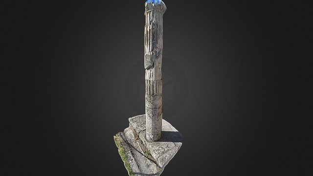 Column 058 3D Model
