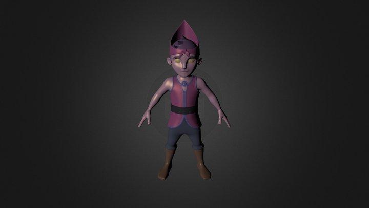 Character_Adi 3D Model