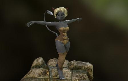 Osamodas 3D Model