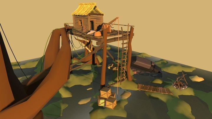Swamphouse 3D Model