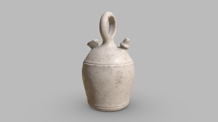 Botijo de barro 3D Model