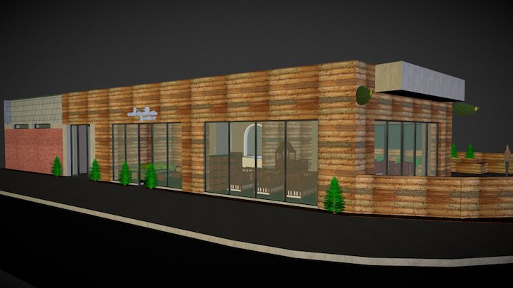 1001 North Milwaukee Avenue, Chicago, Illinois 3D Model