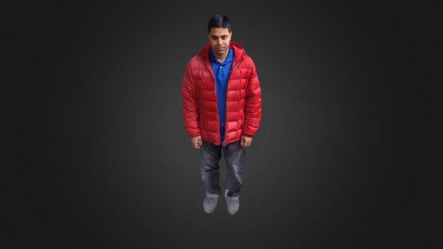 itseez3d Abdul 3D Model