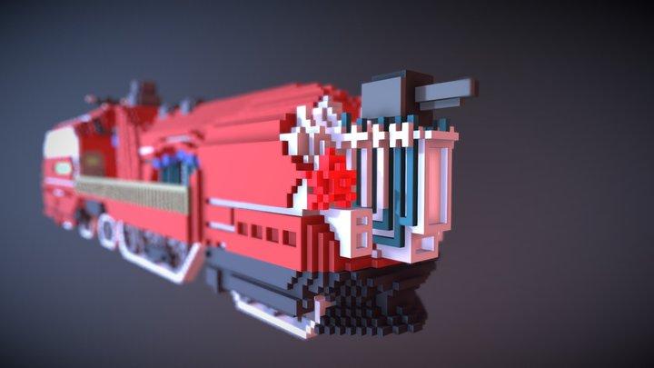 Head train 3D Model