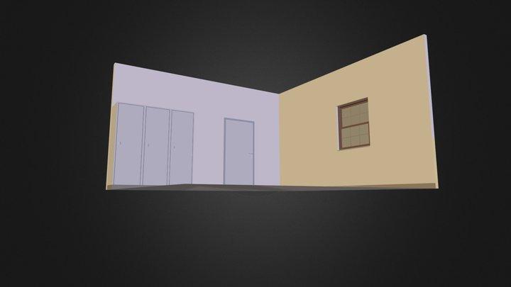 bunk room1 3D Model