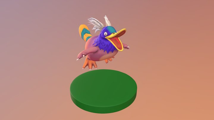 (Not Perry) the platypus 3D Model