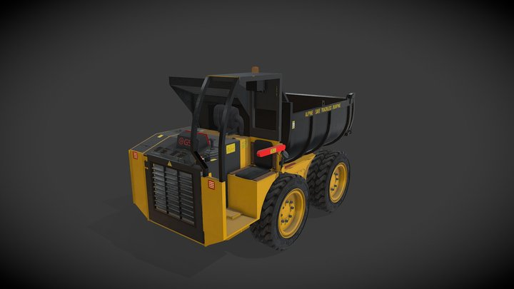 Alpin Dumper 3D Model