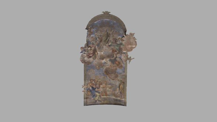 Chiesa di S. Andrea Apostolo (Abside Inf. Cen.) 3D Model