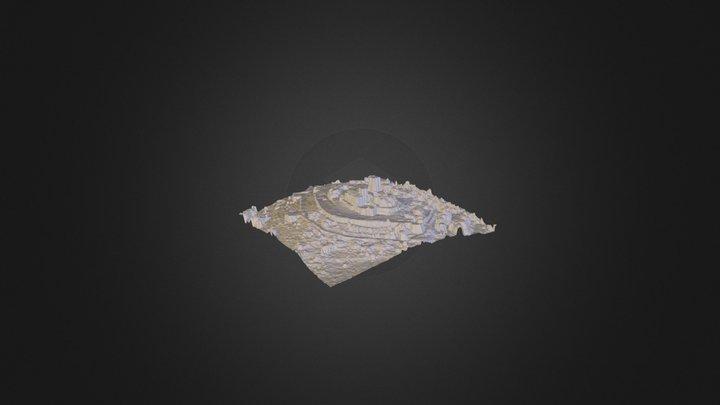 Castillo de Monterrei 3D Model