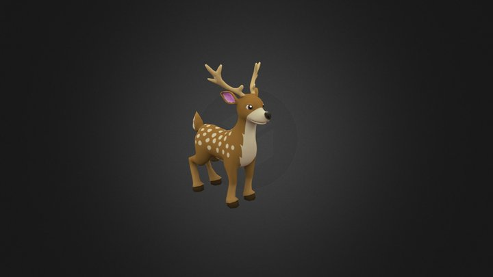 Little Deer 3D Model