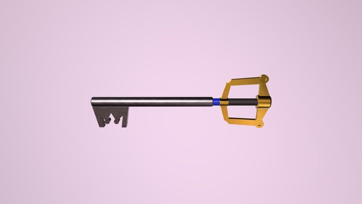 Keyblade test 3D Model