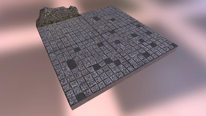 Tiling Floor - Game Asset 3D Model