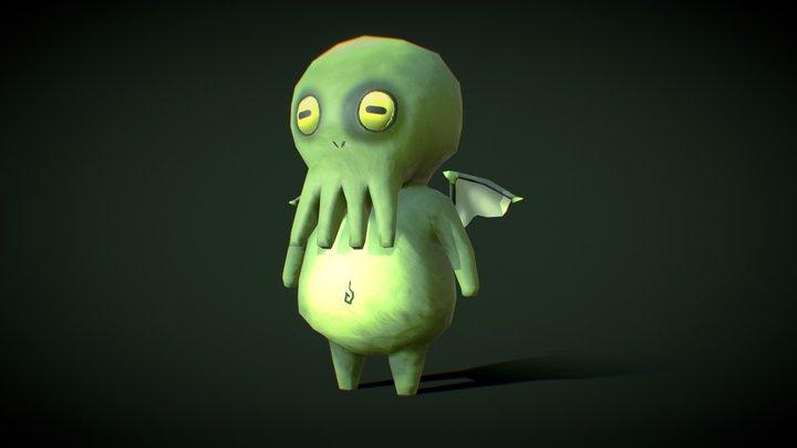 Little Cthulhu 3D Model