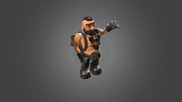 Dwarf Model 3D Model