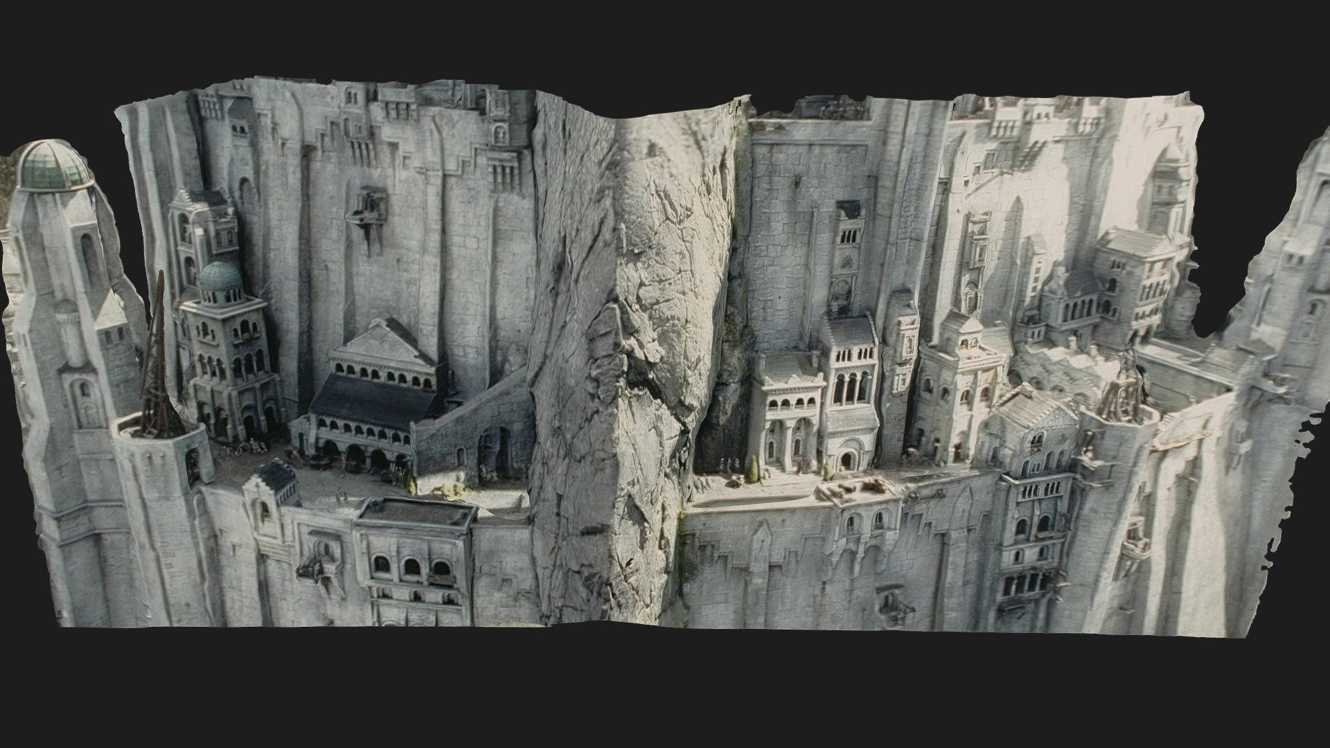 Minas Tirith Lord Of The Rings 3d Model By Benoît Rogez