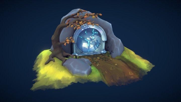 FREE - Vault of Wonders 3D Model
