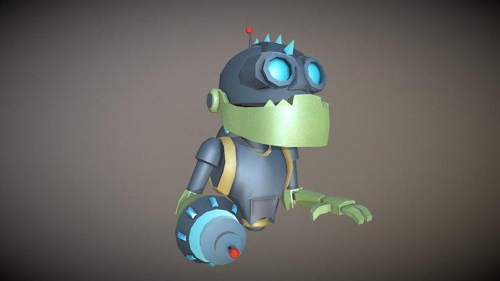 Mr Zurkon-(Ratchet and Clank) 3D Model