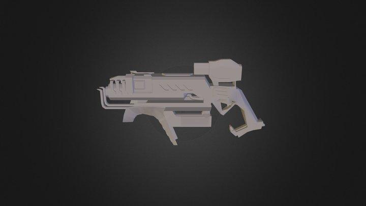SpaceGun001 3D Model