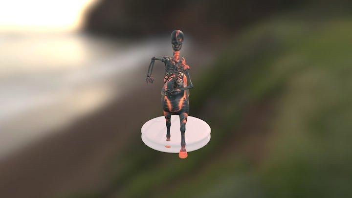 Headless Mule - Tária's Legend Version 3D Model