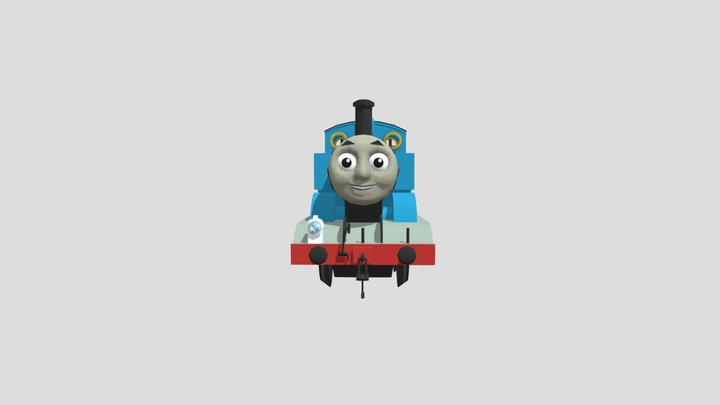 Thomas the Tank Engine (from Thomas & Friends) 3D Model