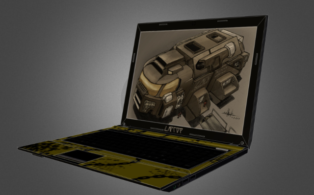 Laptop_MaikelSketchfab 3D Model