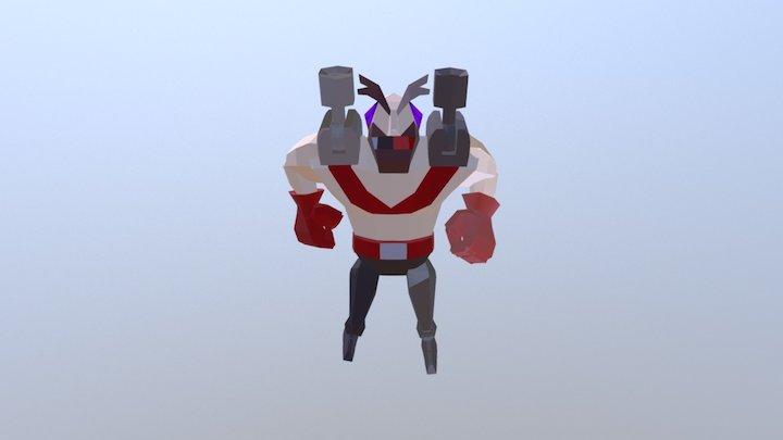 Bomber - Run 3D Model