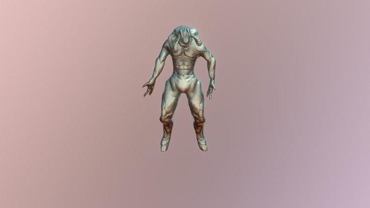 Demon Bady Animatee 2 2 3D Model