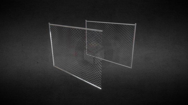 Chainlink Fences (Mid-Poly) 3D Model