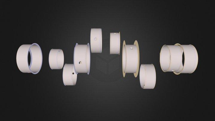 4-PolishedSteel.obj 3D Model