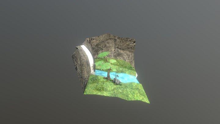 Projeto cena game Anthony 3D Model