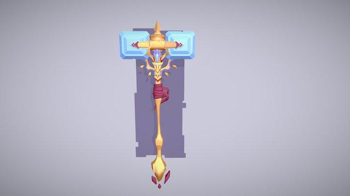Magic Hammer Draft 3D Model