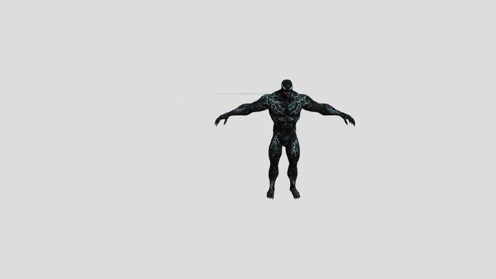 Venom 2018 movie model rigged 3D Model