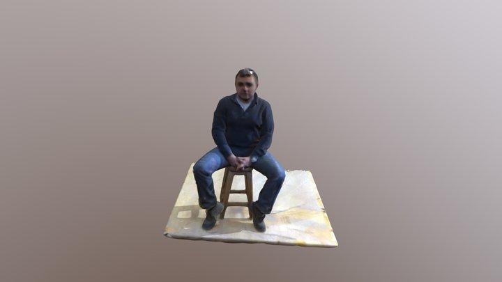 Cağatay Hoca 3D Tarama 3D Model