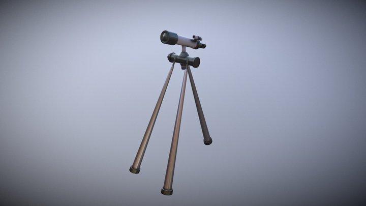Tele Scope 3D Model