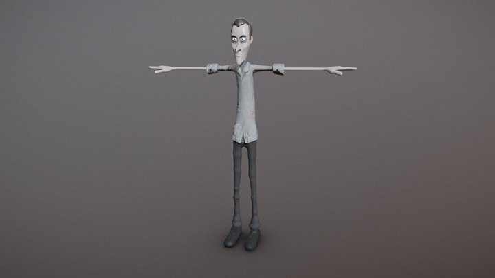 joseph 3D Model