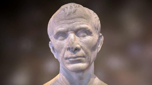 Buste de Jules Cesar 3D Model