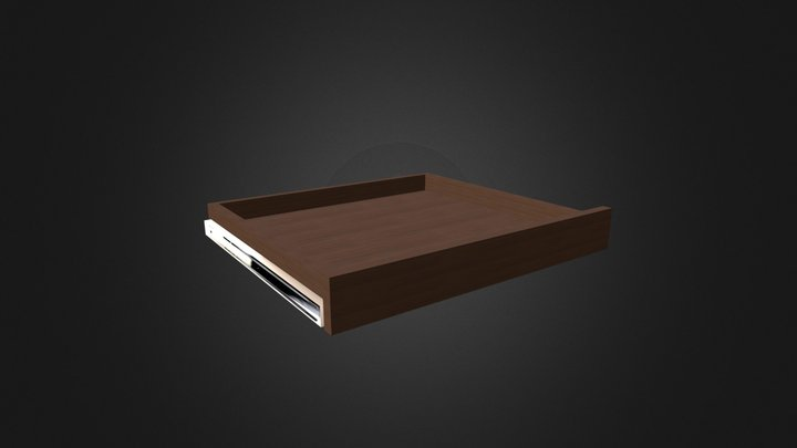 Pull Out Shelf Type 1 3D Model