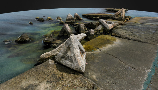 Sea landscape 3D Model