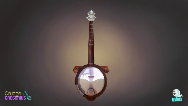 Grudge of Gregorius: Gregs banjo 3D Model